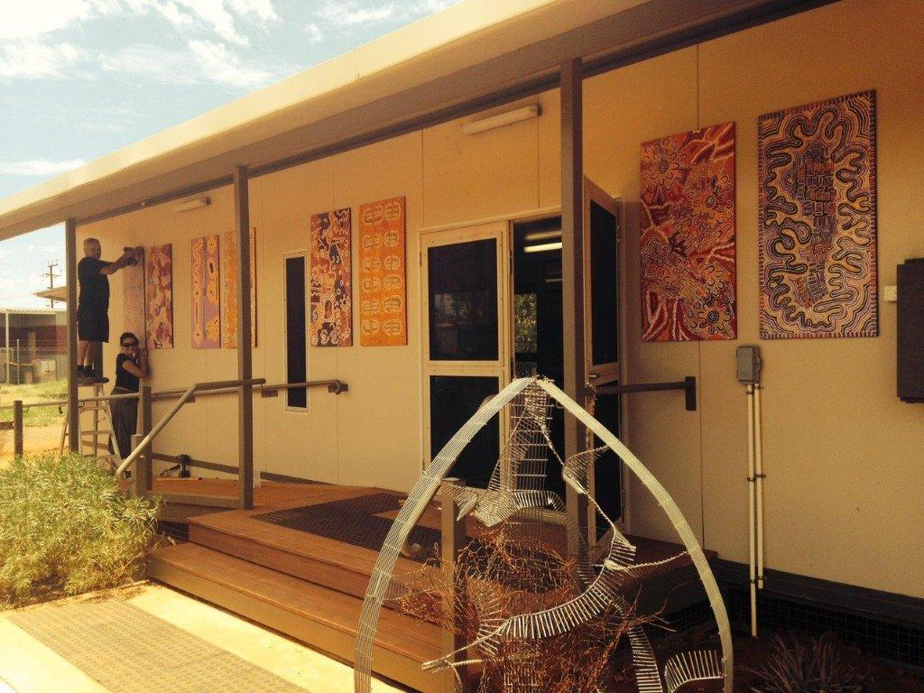 The Purple House in Alice Springs