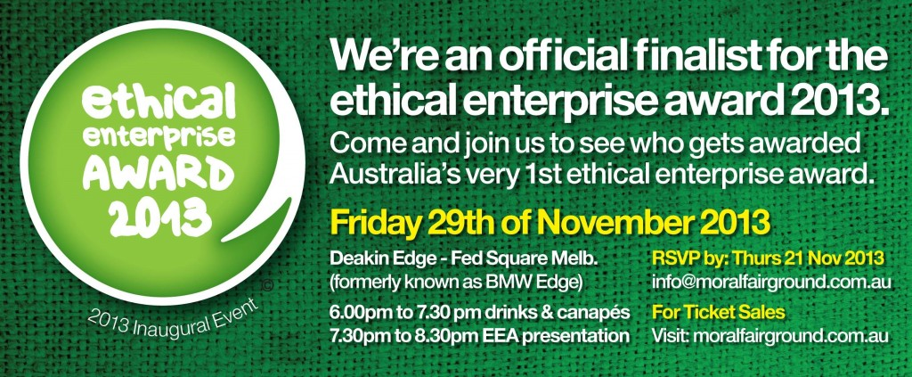 ethical enterprise award banner
