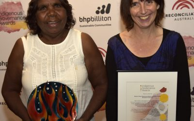 Indigenous Governance Award winners