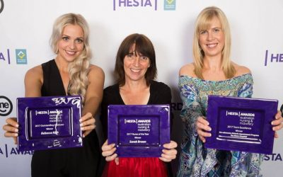 Sarah Brown is HESTA Australia's Nurse of the Year for 2017